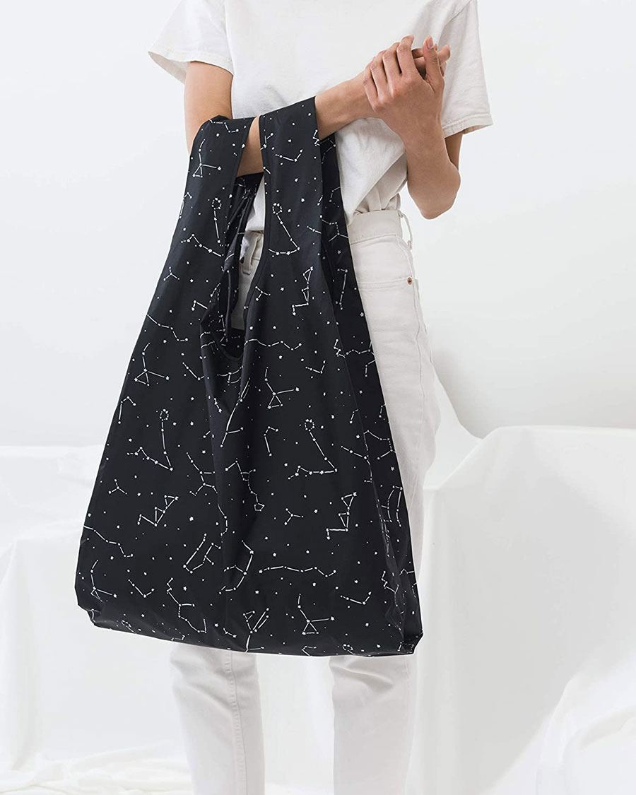 Big Baggu I Einkaufsbeutel Black Constellation