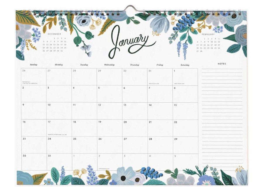 2022 Appointment Wandkalender Marguerite