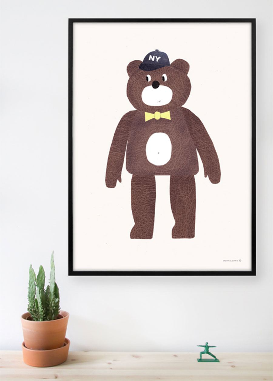 The Bear Poster (50x70cm)