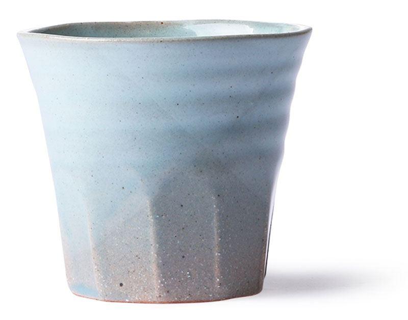 Bold & Basic Mug Grey Blue