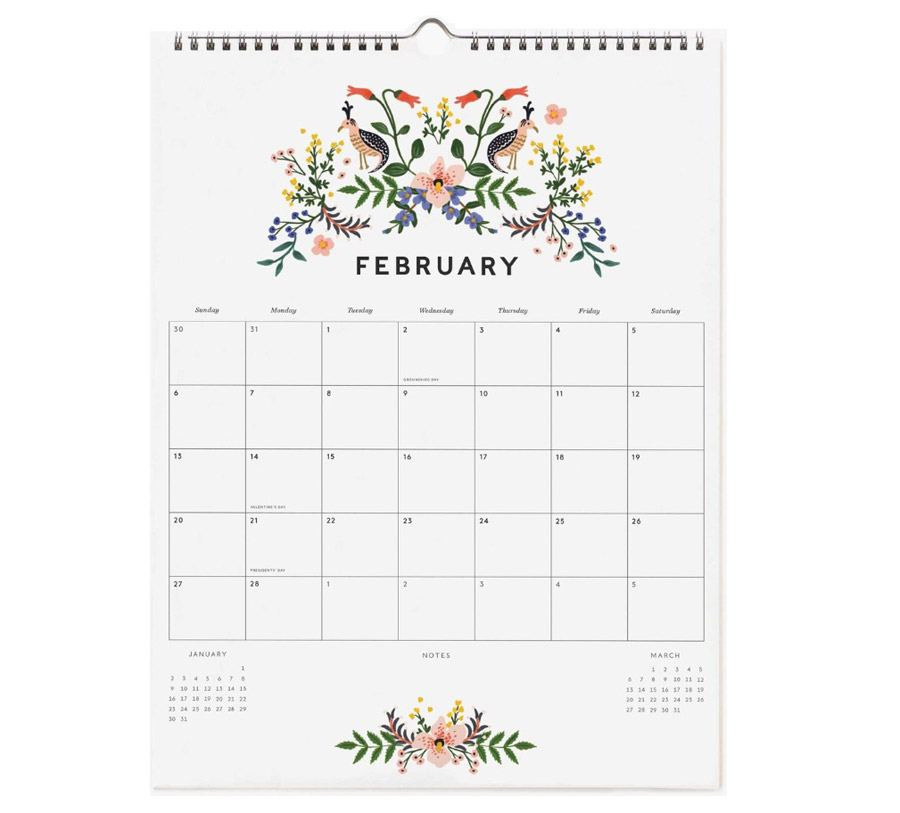 2022 Appointment Wandkalender Luxembourg