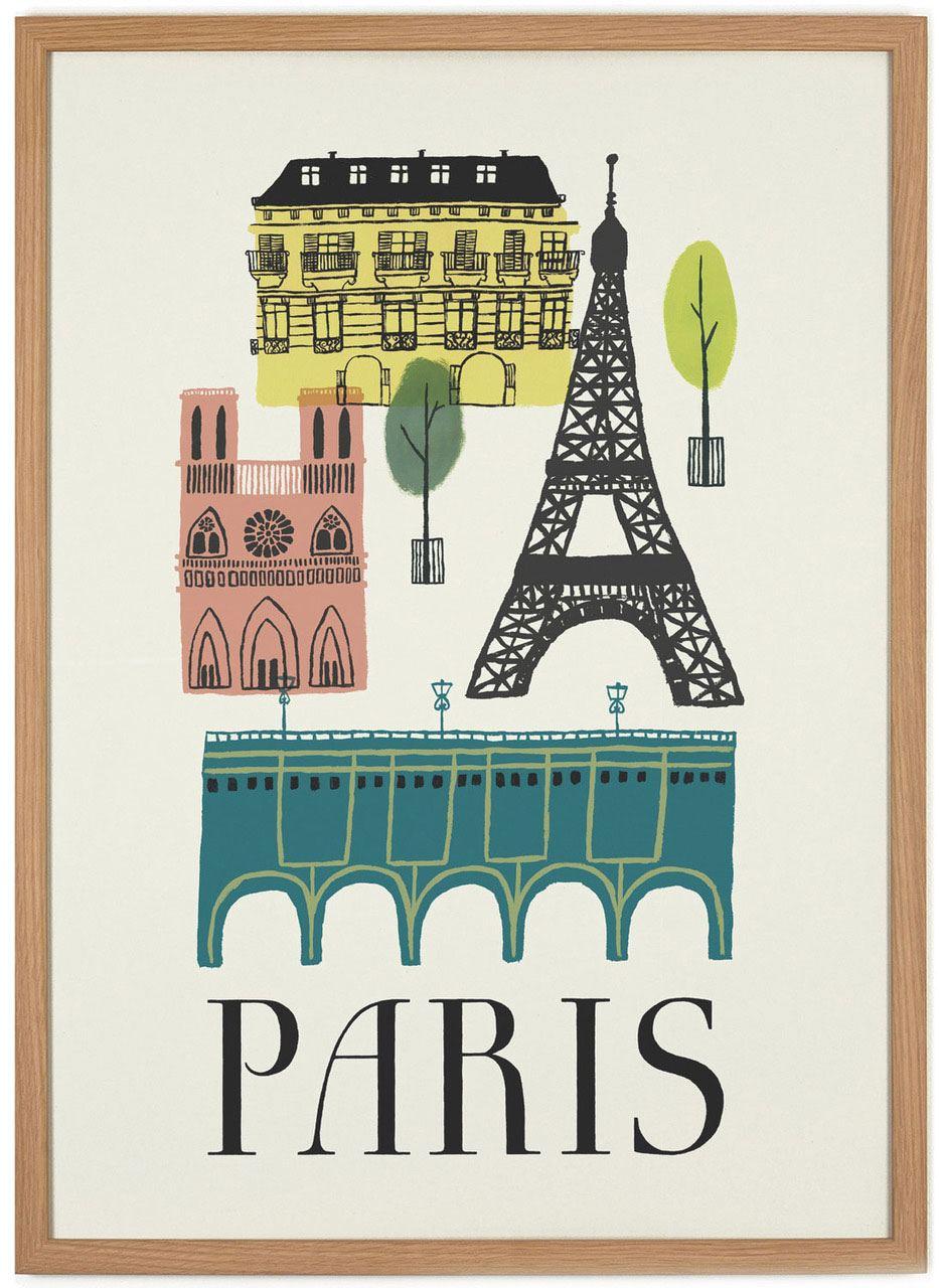 Paris Poster (50x70cm)