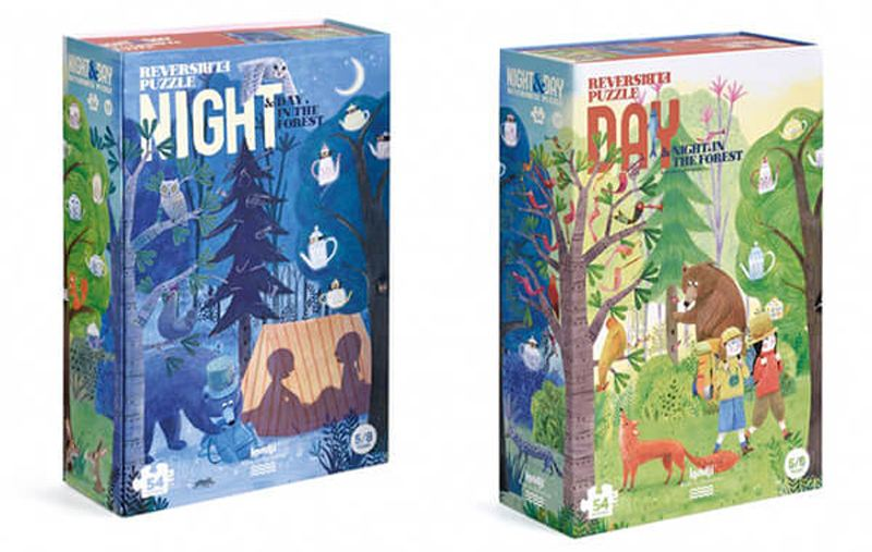 Night & Day in the Forest Puzzle