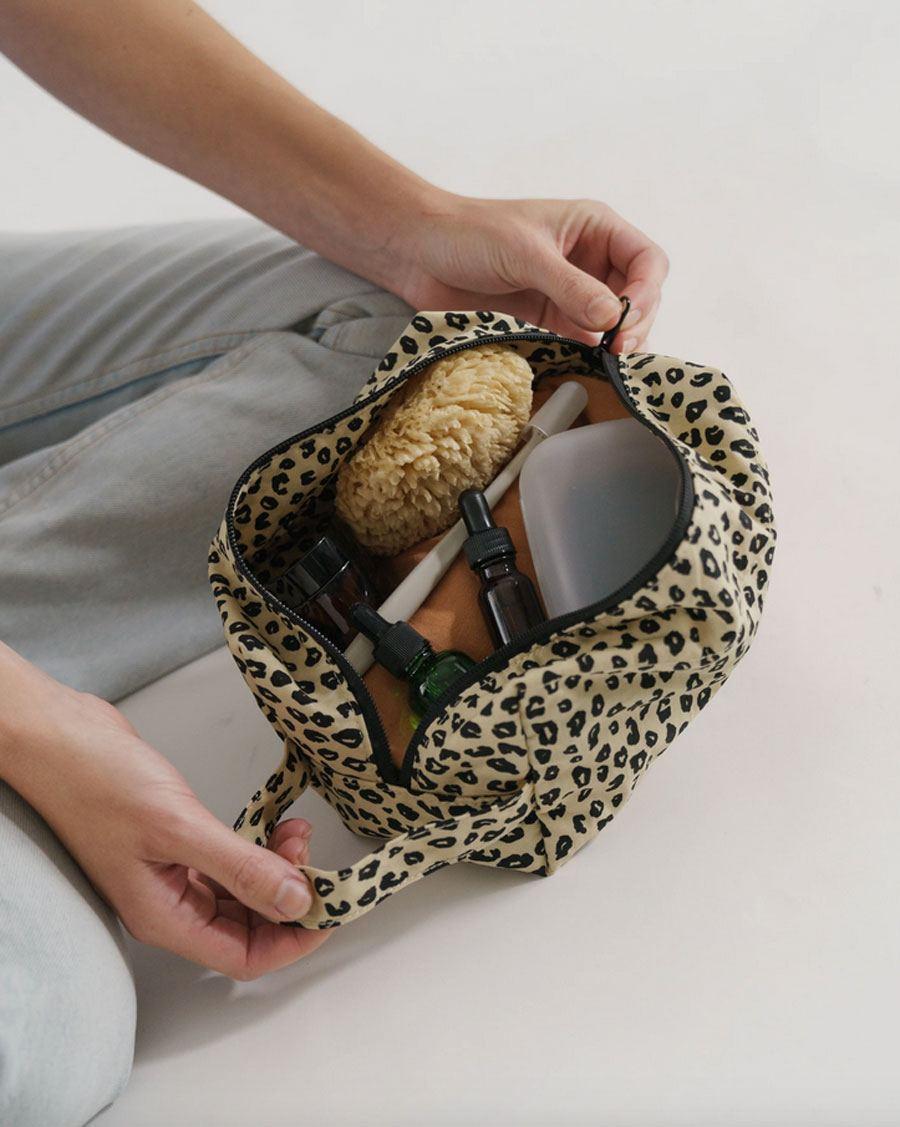 Dopp Kit Honey Leopard