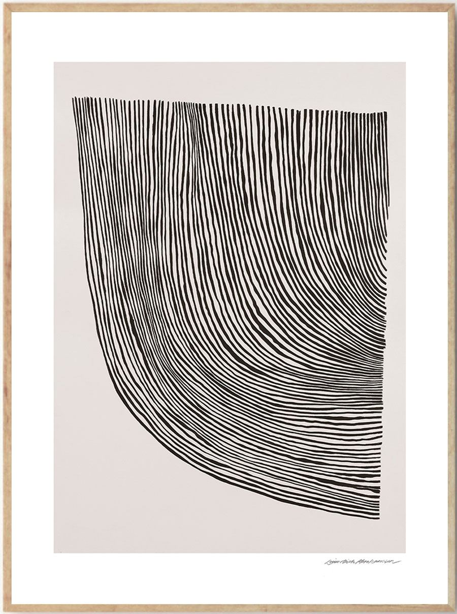 Curves Poster (50x70cm)