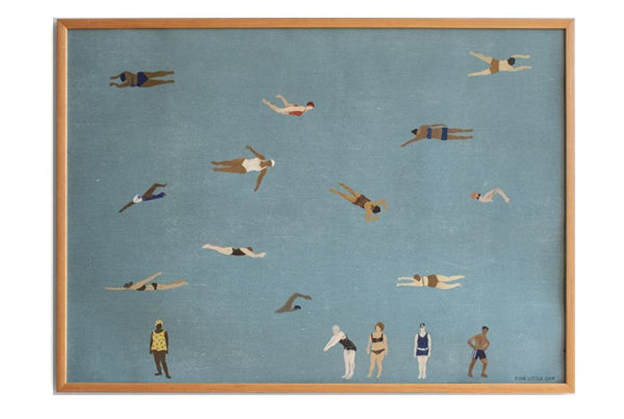 Swimmers Poster (70 x 100 cm)