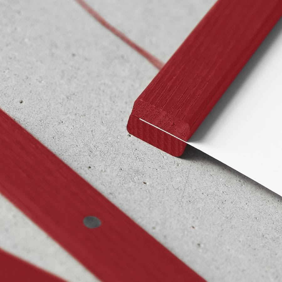 ChiCura Posterleiste Rot 51cm
