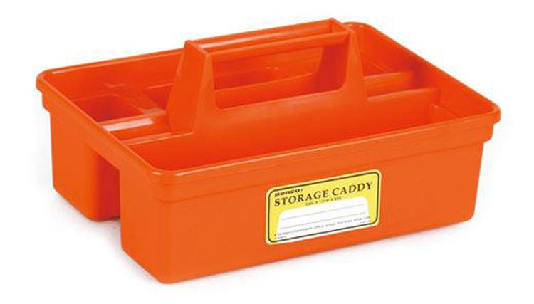PENCO Storage Caddy Orange