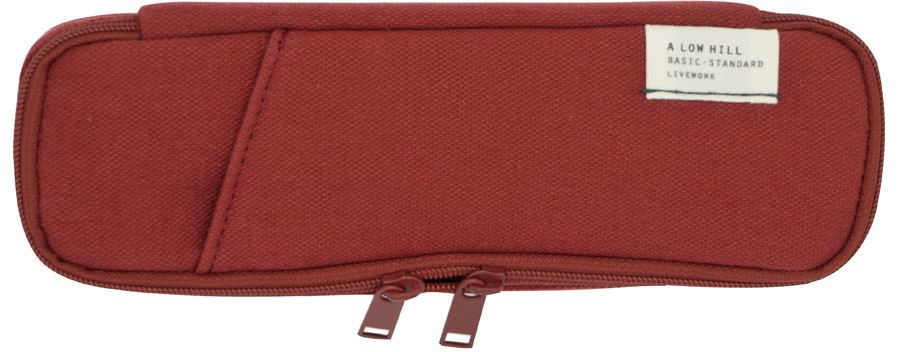 Low Hill Pencil Pouch V3 Brick Red