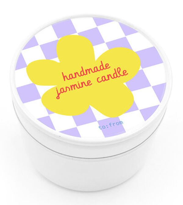 Handmade Jasmine Kerze