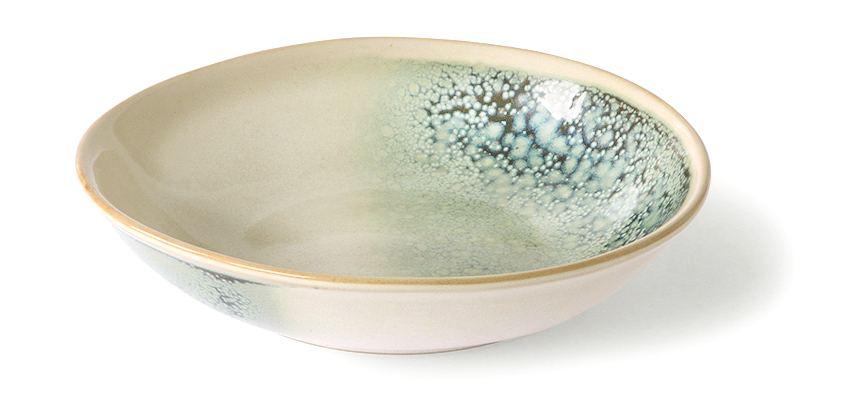 70's Ceramic Curry Bowl Mist