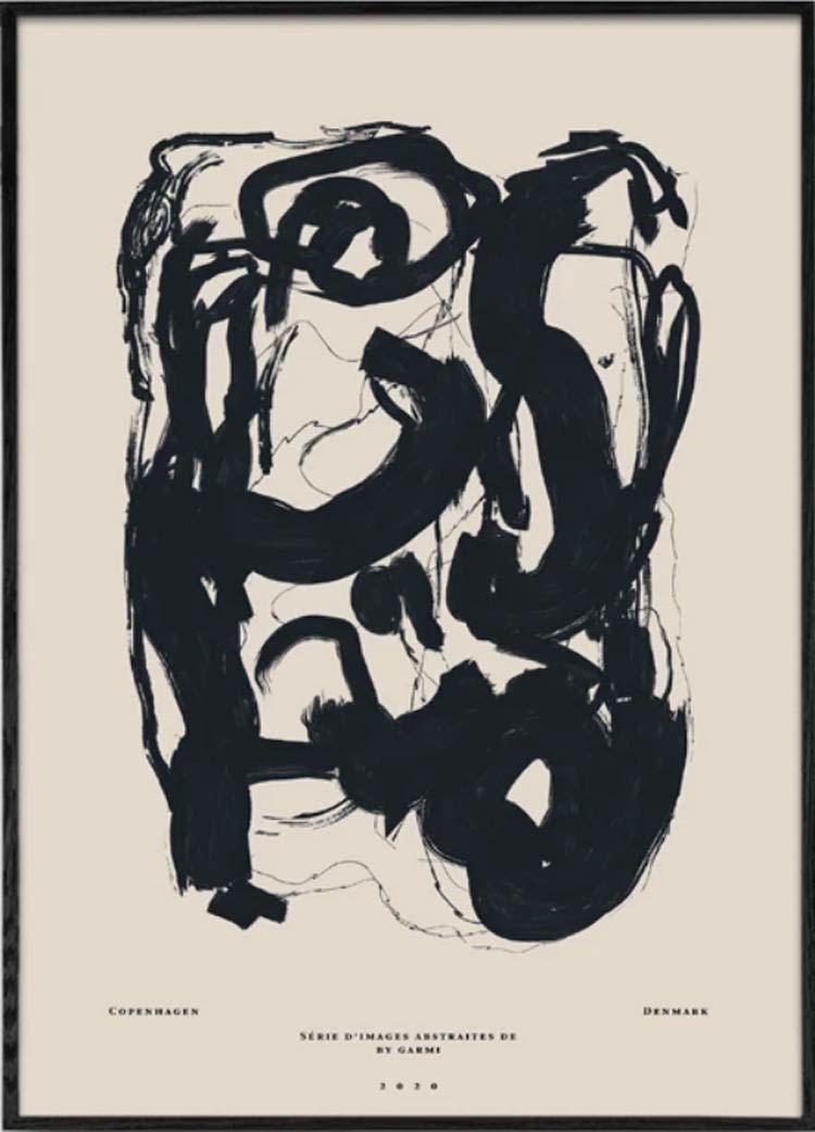 Étude 13 Poster (50 x 70 cm)