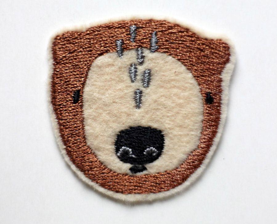 Aufnäher Bär