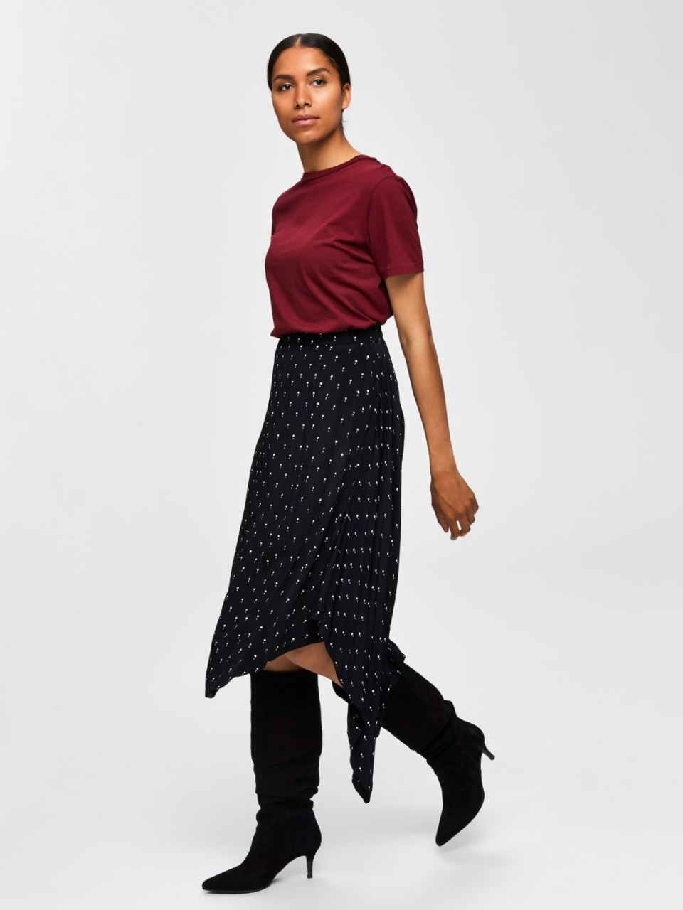 SLFMY Perfect Tee Cabernet