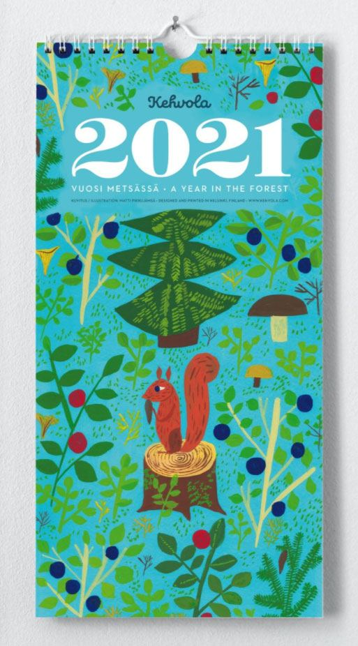 Kehvola A Year In The Forest Kalender 2021
