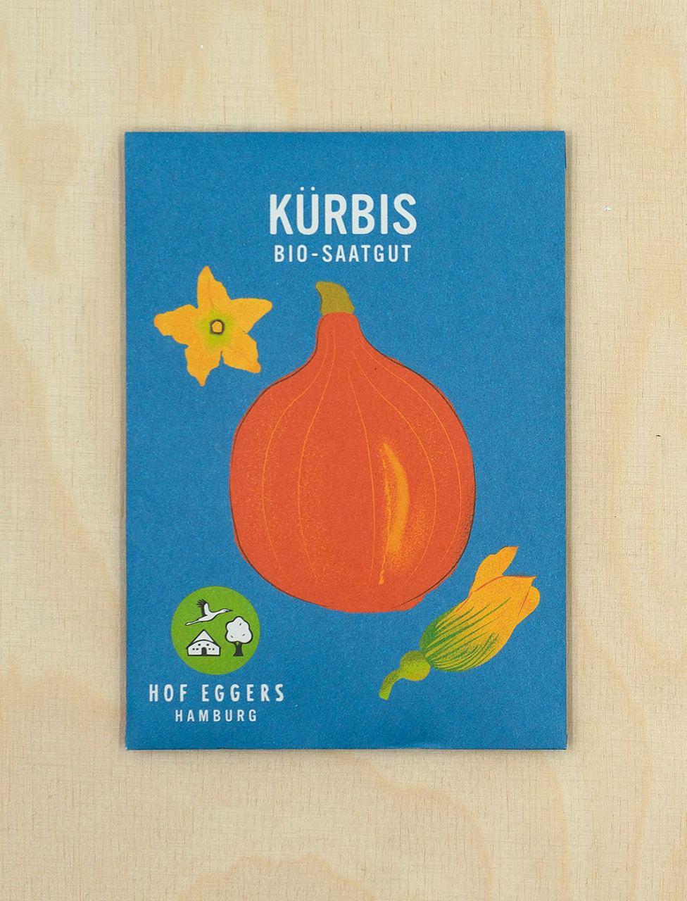 Kürbis Red Kuri, Bio-Saatgut