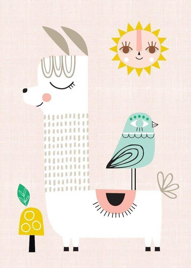 Sunshine Lama Poster (29,7 x 42 cm)