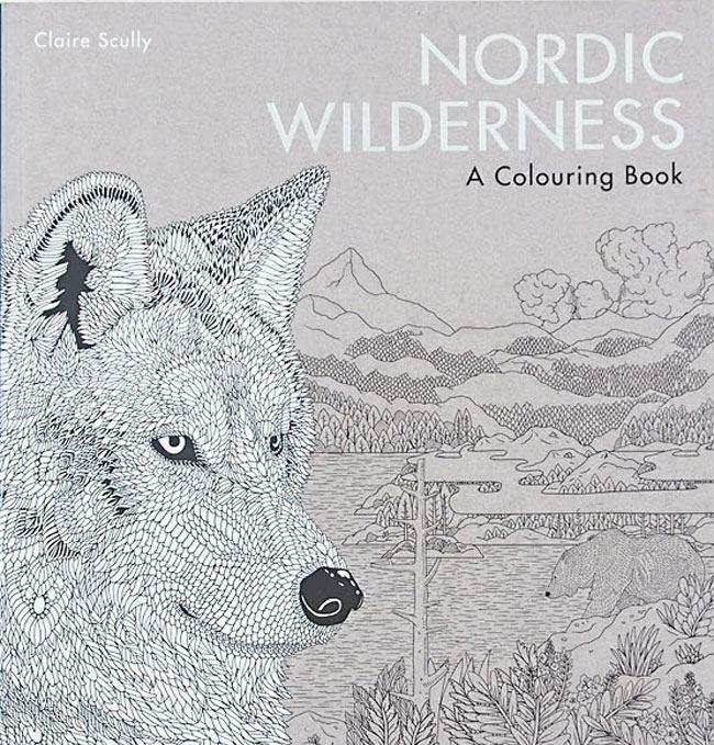 Ausmalbuch Nordic Wilderness
