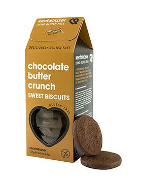 Kent & Fraser Butter Crunch Chocolate Biscuits