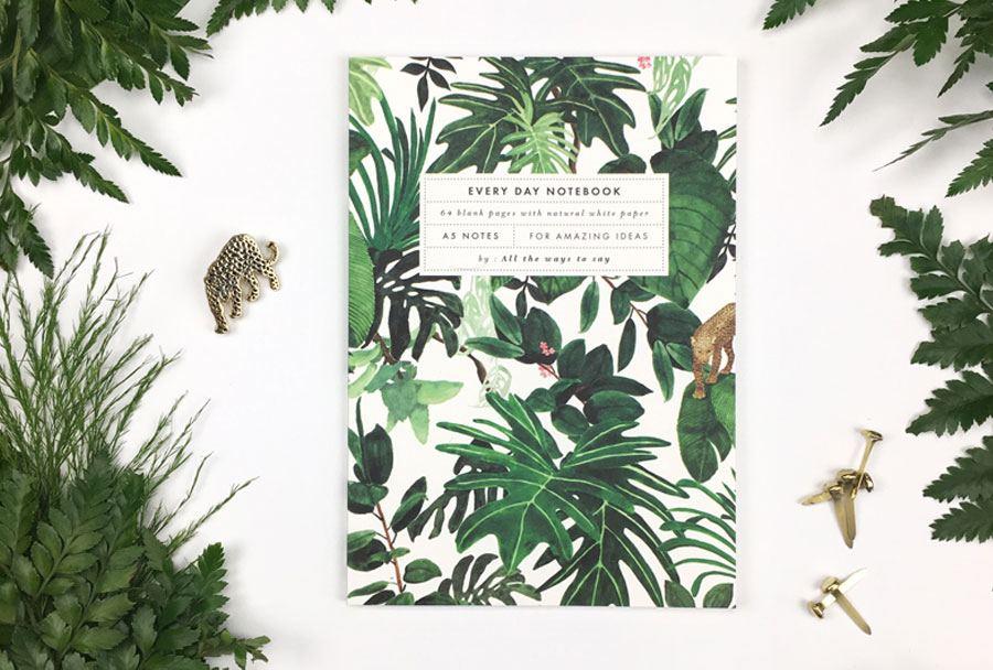 Jungle Notizbuch (A5)