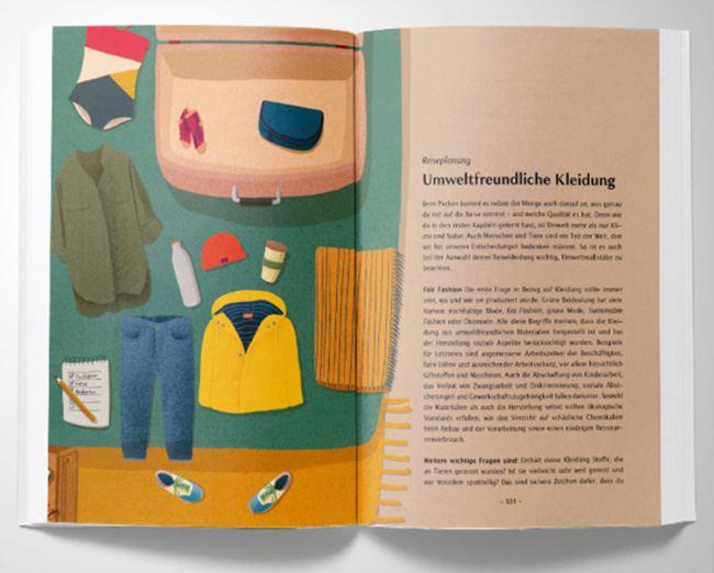 Dasselbe in Grün - Handbuch für umweltbewusstes Reisen
