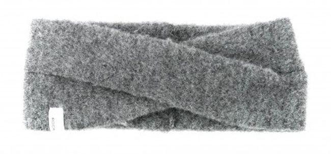 Evi Stirnband Dark Grey