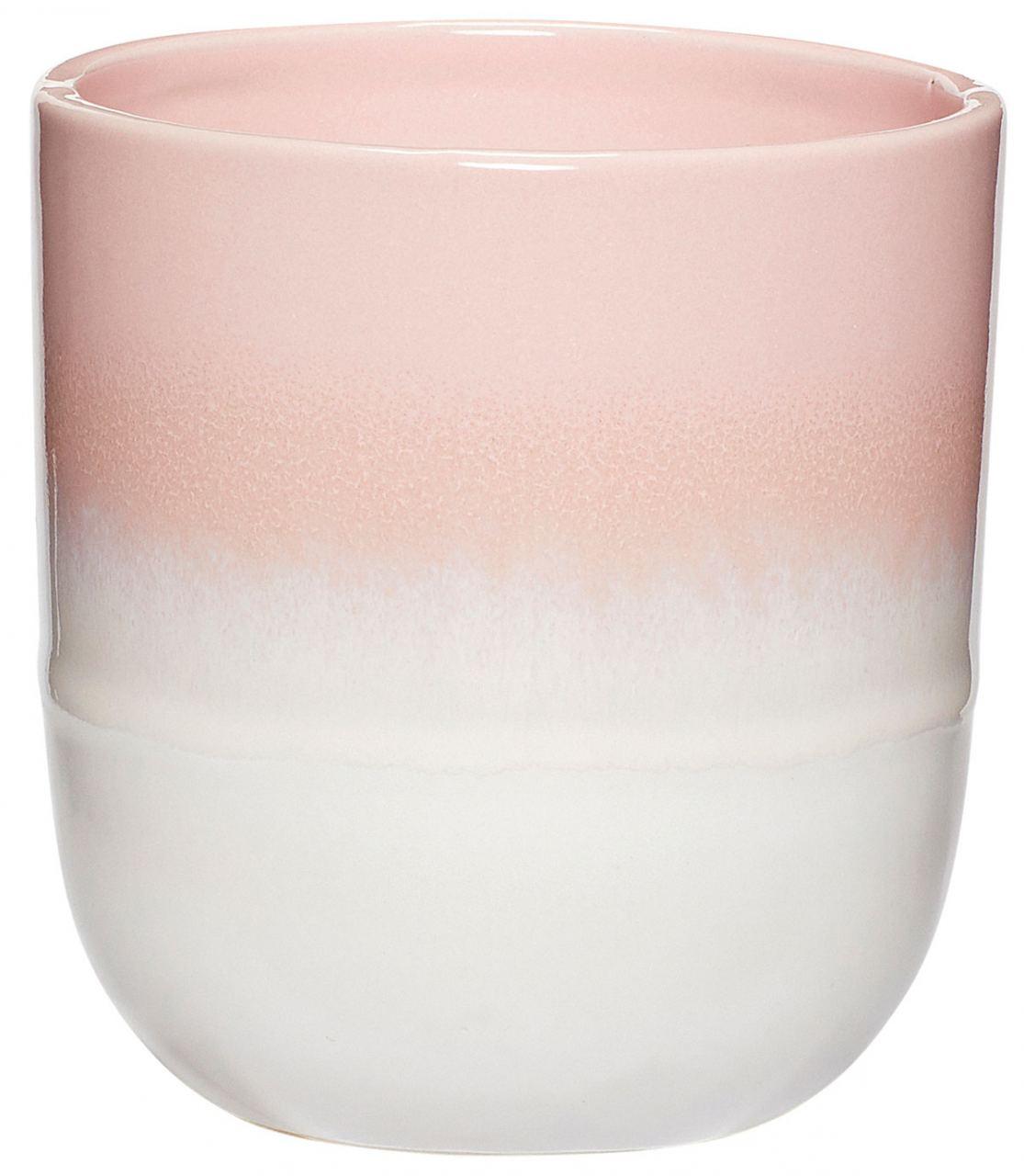 Keramikbecher Rosa