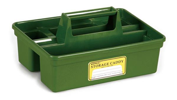 PENCO Storage Caddy Olive Green