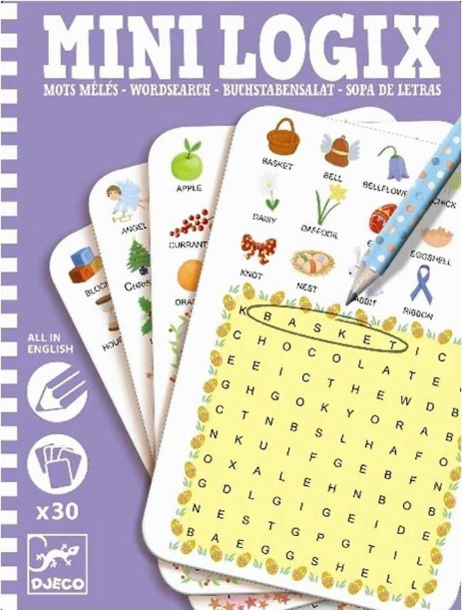 Mini Games: Buchstabensalat