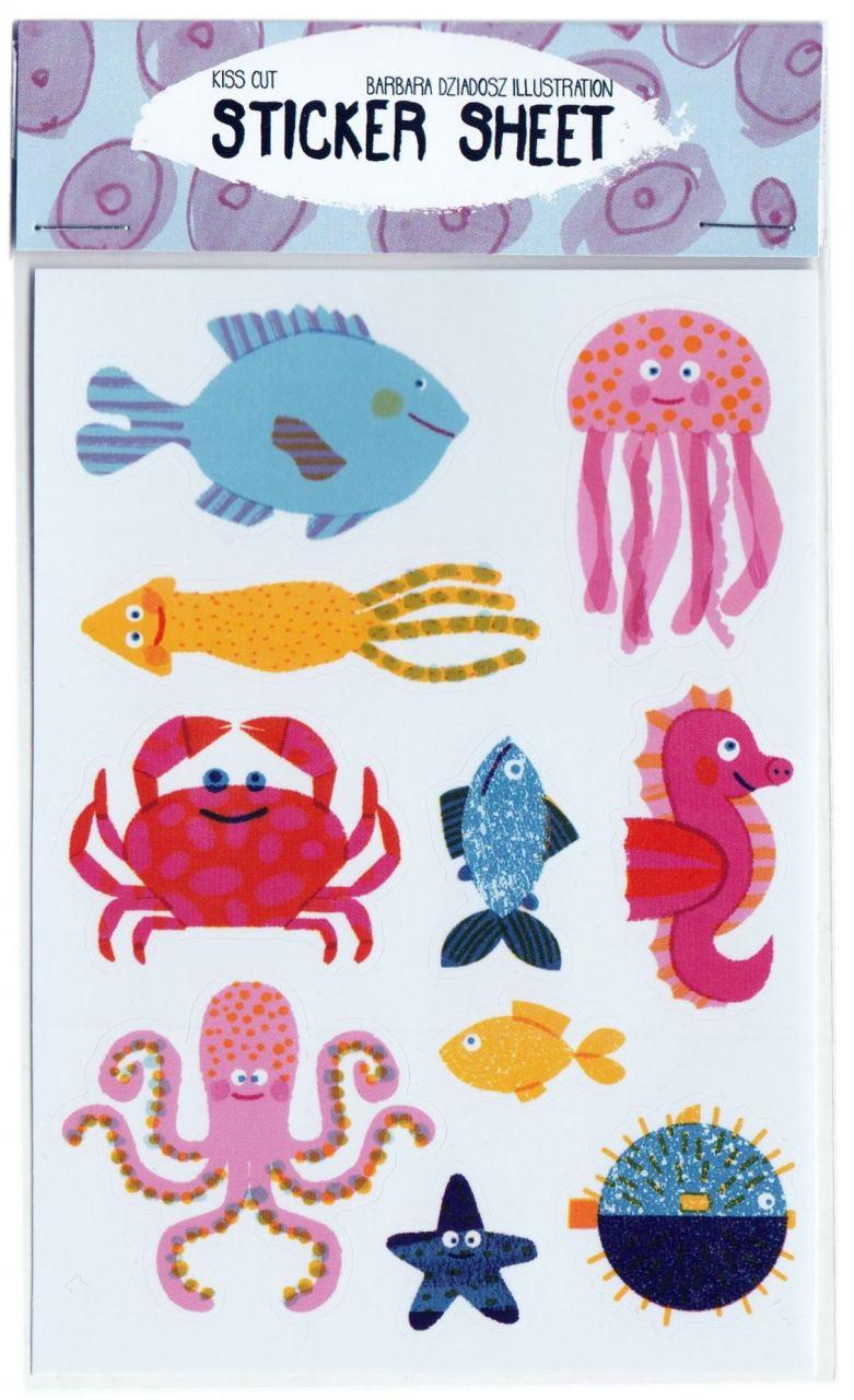 Underwater Sticker Set