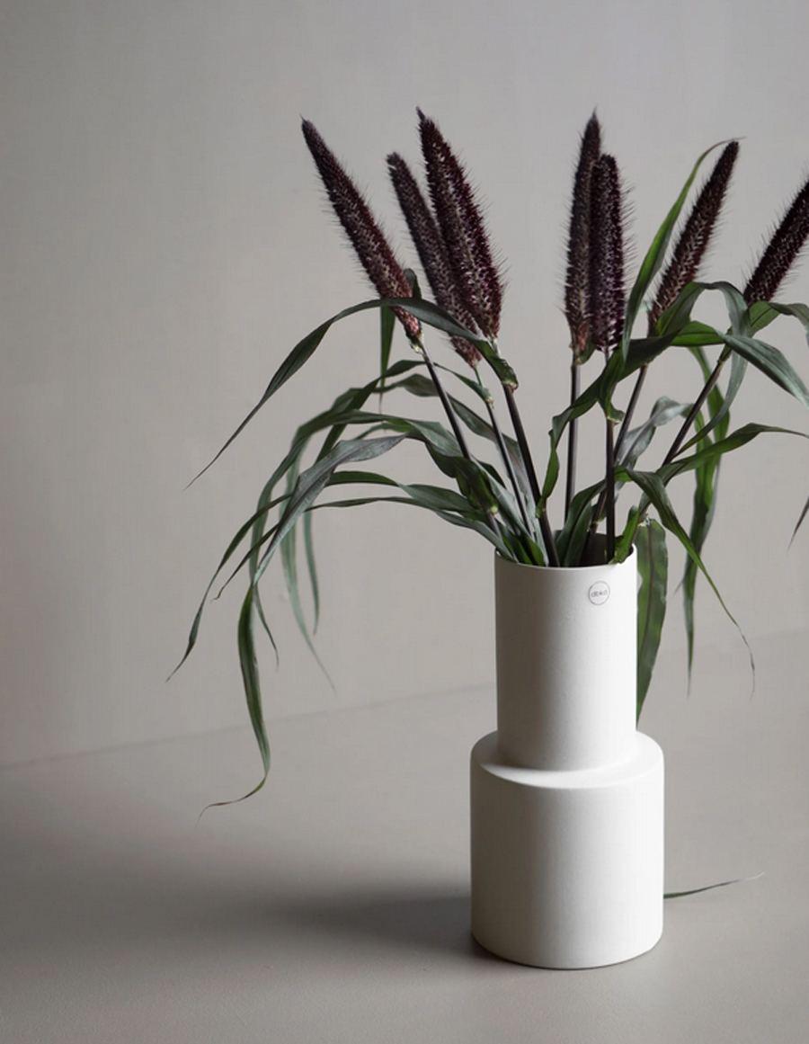 Vase Oblong Sandy Mole Large