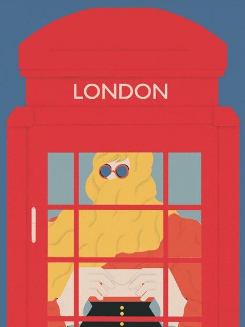 London Poster #2 (50 x 70 cm)