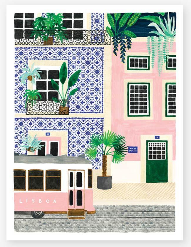 Lisboa Print (29,7 x 39,7cm)