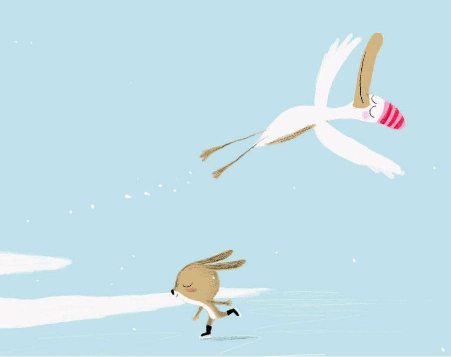 Erpel liebt Ente