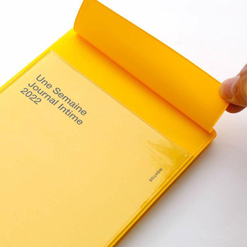 Iris 2022 Diary Yellow