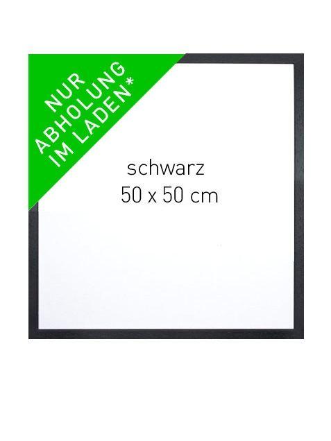 Rahmen Schwarz 50x50cm