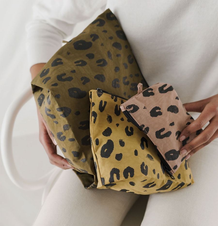 Go Pouch Leopard