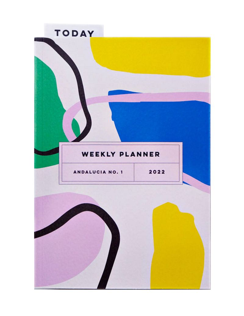 Andalucia No.1 2022 Weekly Lay Flat Planner Book