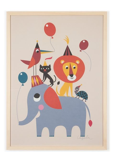 Animal Party Poster (50x70cm)