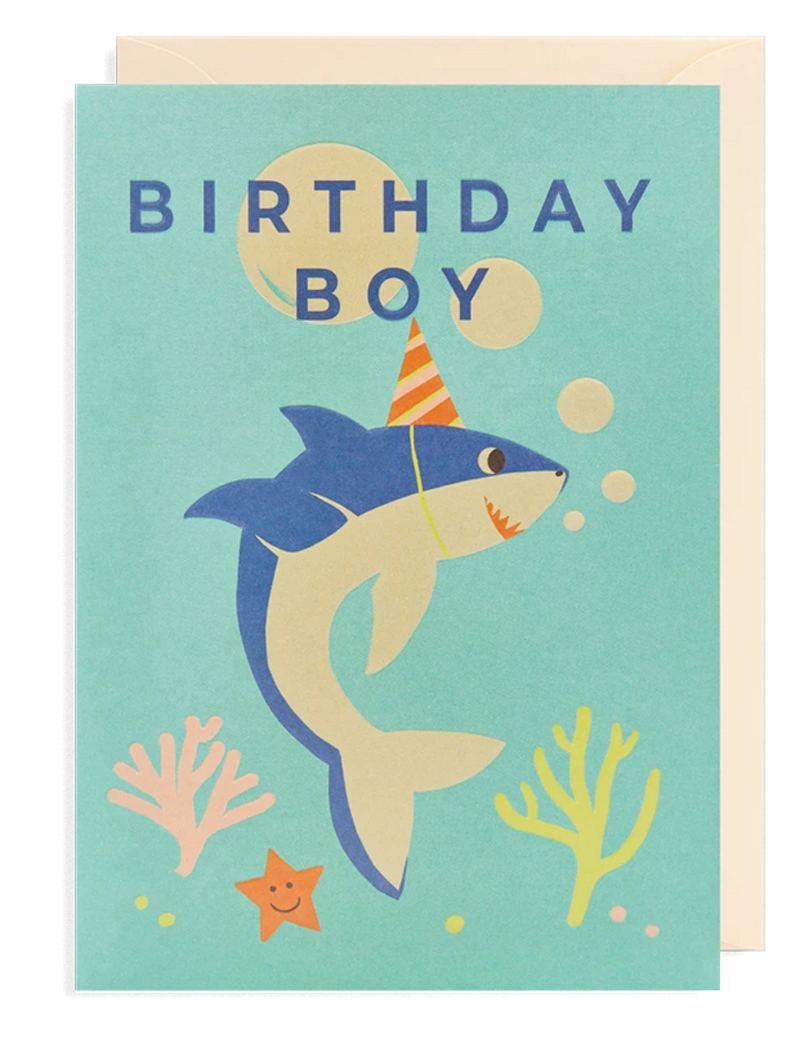 Naomi Wilkinson Birthday Boy Klappkarte
