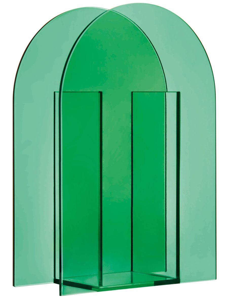 Vase Arch Darkgreen