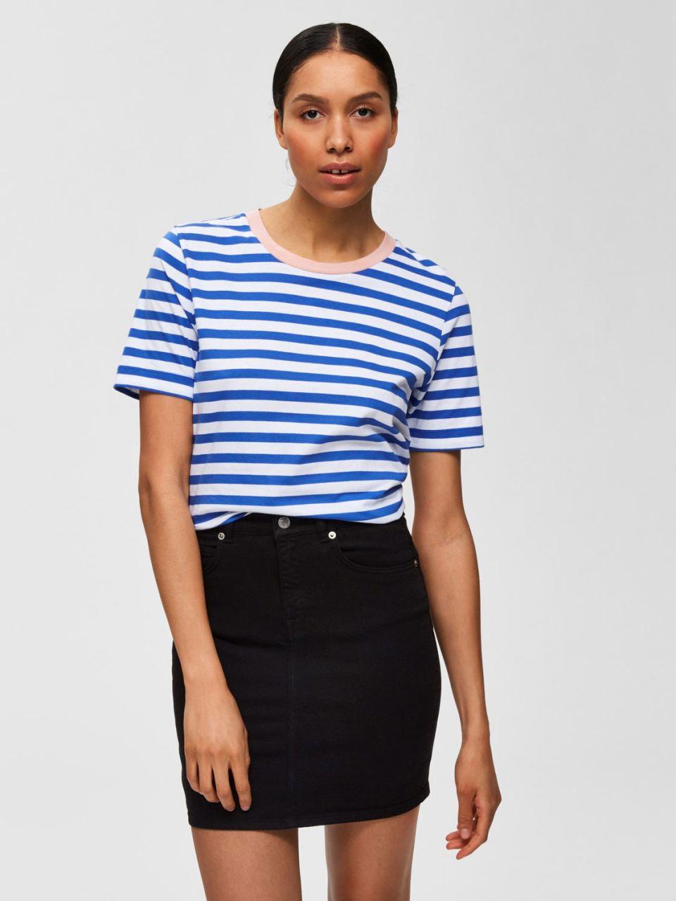 SLFStandard T-Shirt Dazzling Blue
