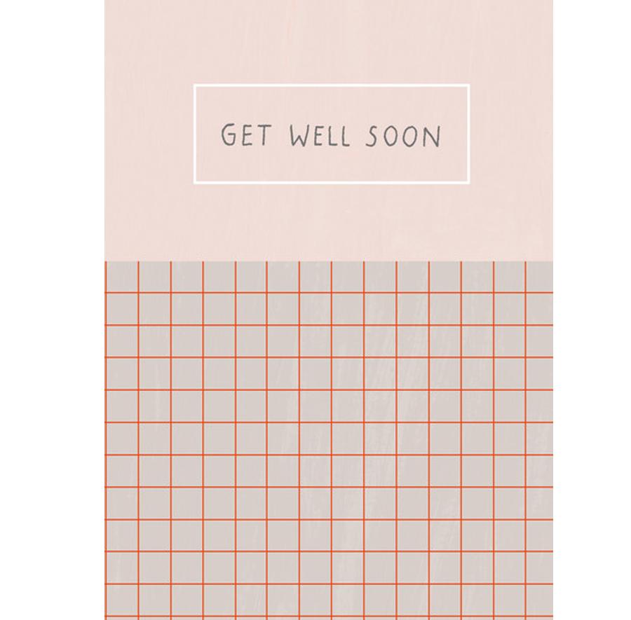 Get Well Soon Postkarte