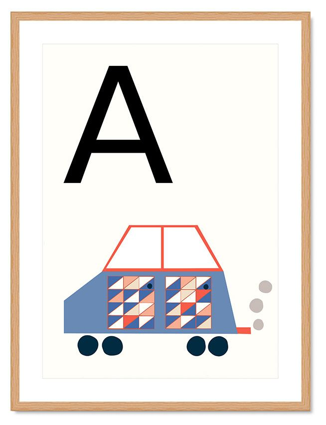 ABC Kinderprint - A