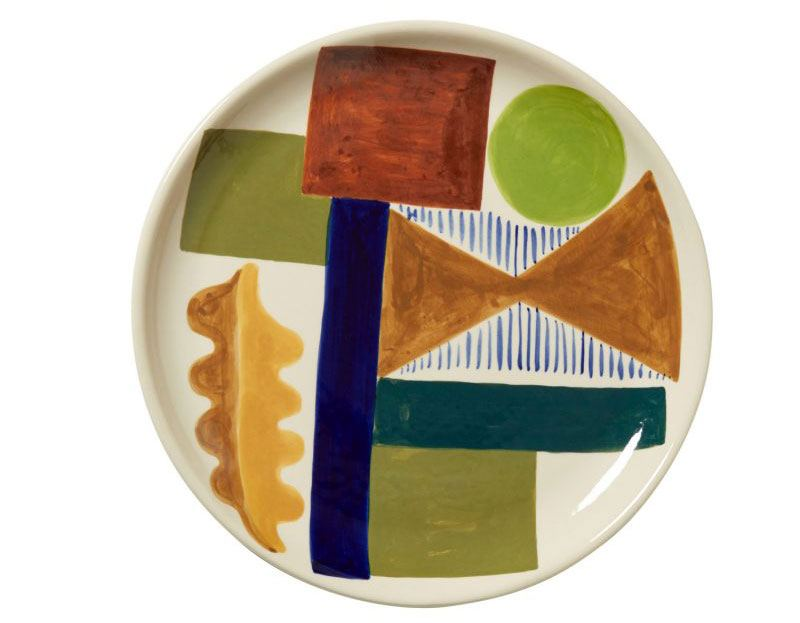 Spring Oak Dinner Plate