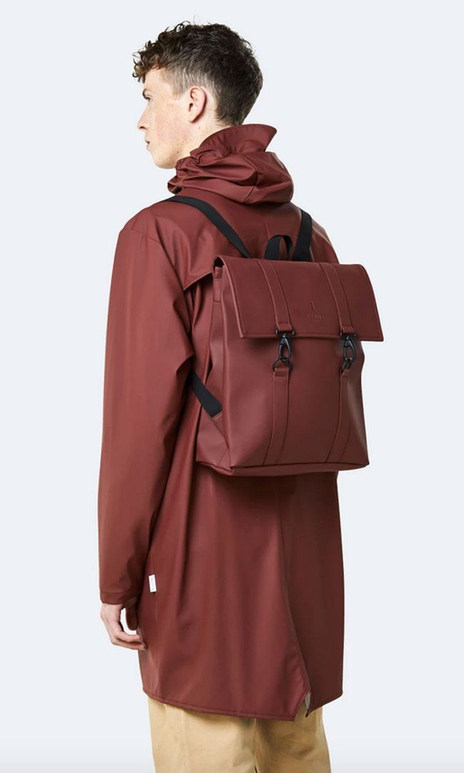 Rains MSN Bag Mini Maroon