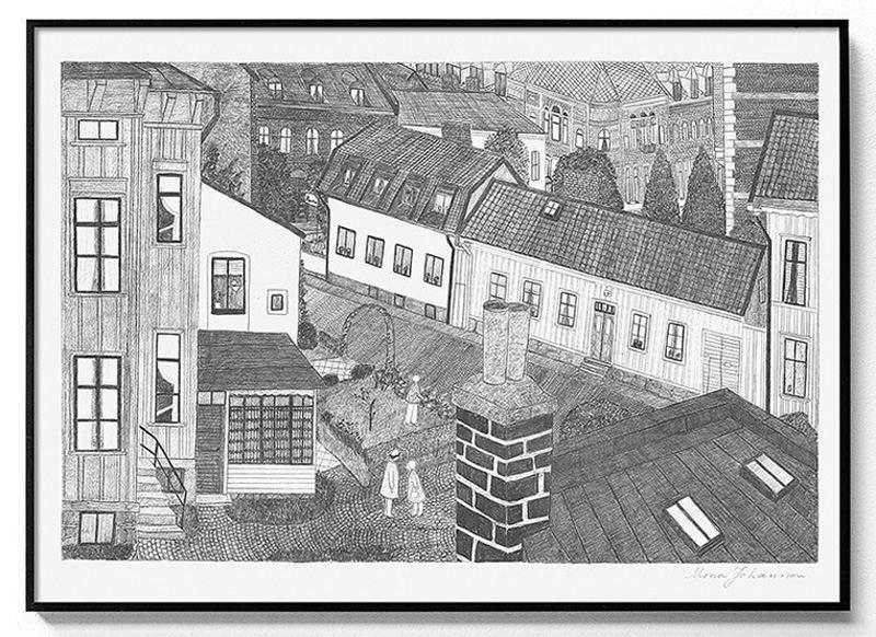 Hus Poster (50x70cm)