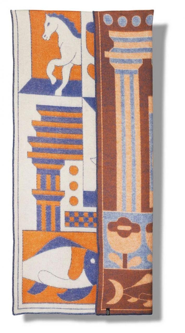 Decorative Wolldecke (Jacco Bunt)