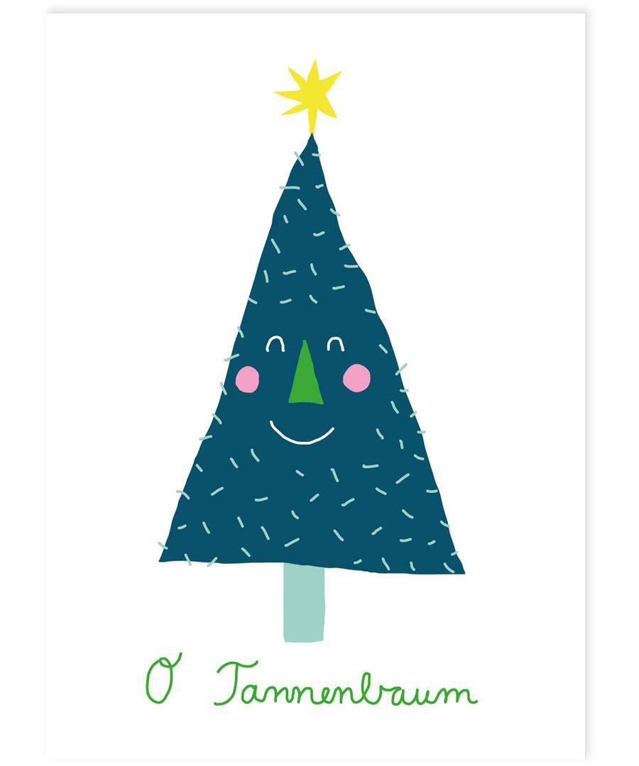 O Tannenbaum Postkarte