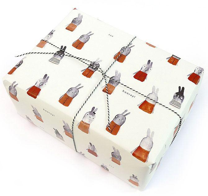 Bunnies Geschenkpapier
